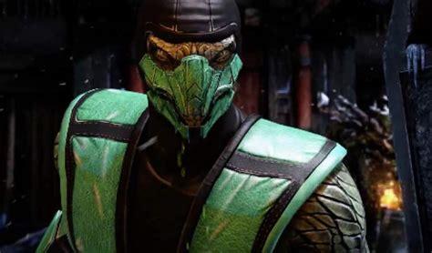 mortal kombat  klassic reptile isnt human ninja skin