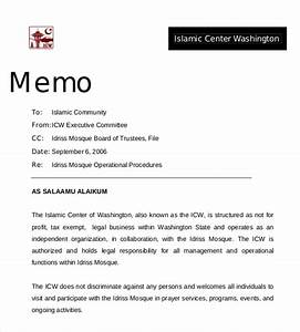 professional memo template 15 free word pdf documents With memo to file template