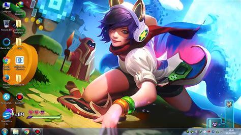 Animated Wallpaper Windows 10 League Of Legends - arcade ahri login screen animation wallpaper engine