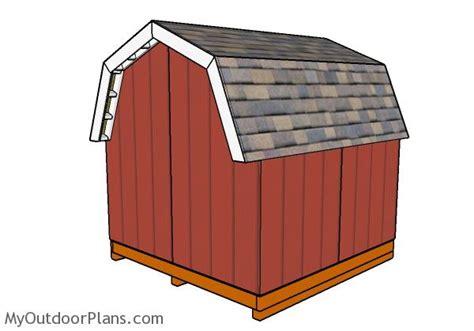 short barn shed plans myoutdoorplans