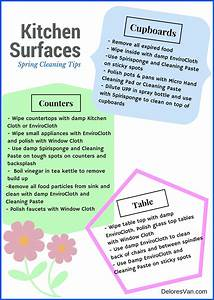 Norwex Spring Cleaning Tips - Kitchen
