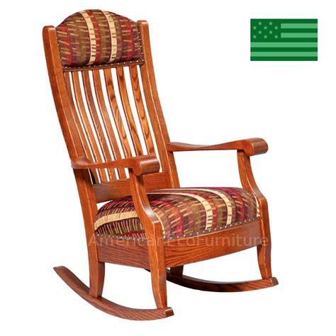 amish made rocking chairs image mag