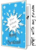 christmas photo card templates