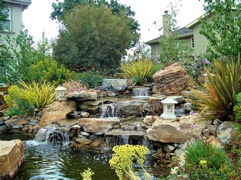 pond designs with waterfalls 1000 images about backyard waterfalls on pinterest backyard waterfalls backyard water