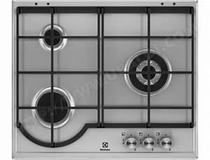 Plaque A Gaz Pas Cher : electrolux egh6333box plaque gaz pas cher ~ Voncanada.com Idées de Décoration