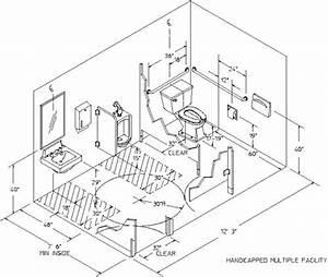 Ada Bathroom Handicap Bathroom Stall Dimensions Canada