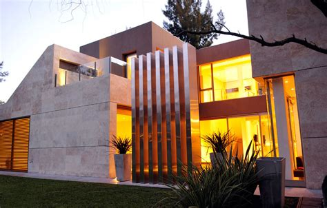 casa st modern house  buenos aires shockblast