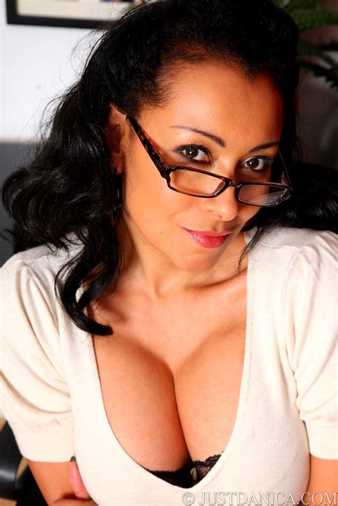 Cleavage And Glasses Danica Collins Pinterest Glass