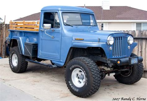 willys pickup information   momentcar