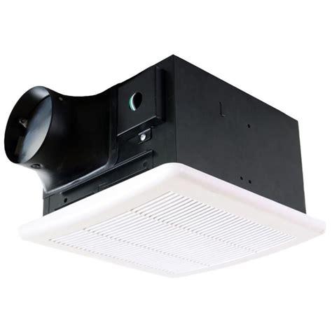 nuvent 50 cfm ceiling mount high efficiency bathroom