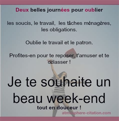 citations proverbes sur week end atmosph 232 re citation