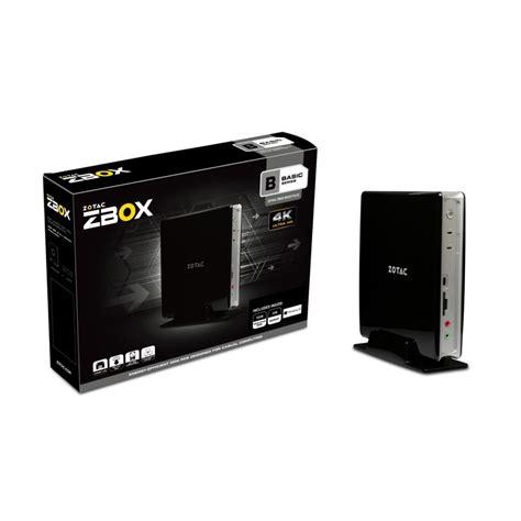 pc bureau avec ssd zotac zbox bi323 avec windows 10 home pc de bureau zotac sur ldlc