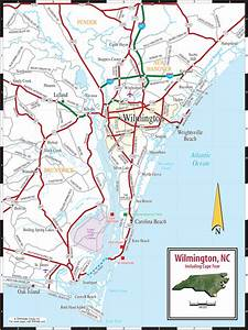 Map Of Wilmington Nc
