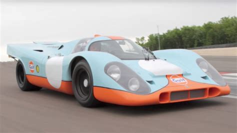Porsche 917 From Steve Mcqueen's 'le Mans' Up For Auction