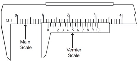 Diagram Of Vernier Caliper by Lab D Measuring With Vernier Calipers