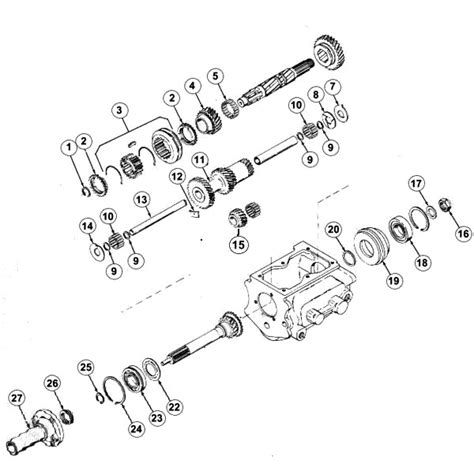 Jeep Exploded Diagram by 11 Best Jeep Transmission Parts Images On