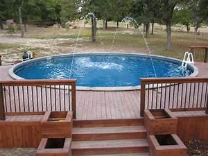 Pool Dach Rund : 23 inspirational wood deck designs interior design ~ Watch28wear.com Haus und Dekorationen