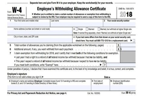 irs releases updated withholding calculator and 2018 form