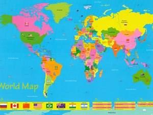 InCultureParent | 10 Best World Maps for Your Children's Room