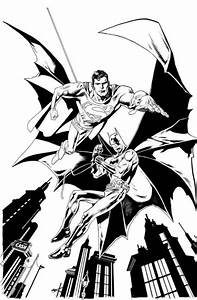 Batman Superman Flying Coloring Pages - Action Coloring ...