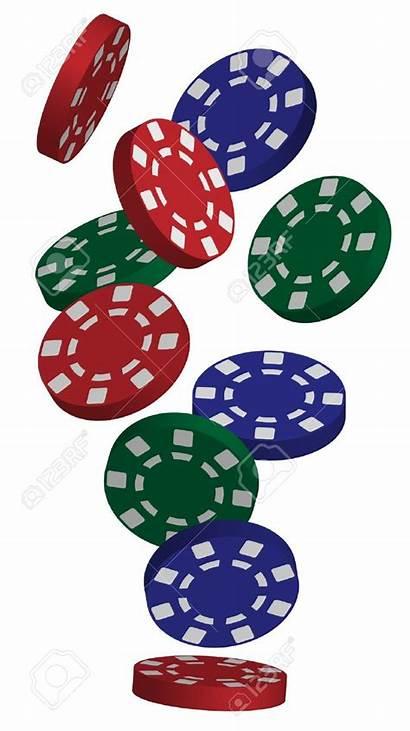 Poker Chips Casino Clipart Vector Clip Illustration