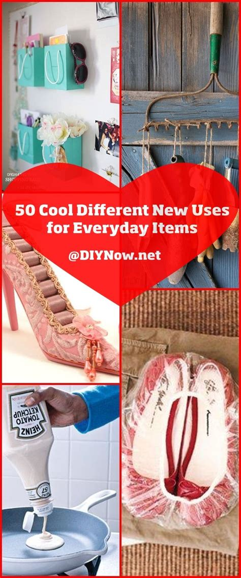 50 Cool Different New Uses For Everyday Items  Diynownet