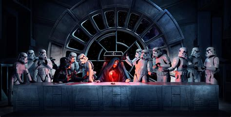 "Creating The Photograph Steve Brown's ""star Wars Last Supper"""