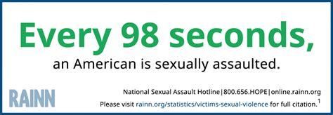 Vast majority of sexual assaults are never reported, but ...
