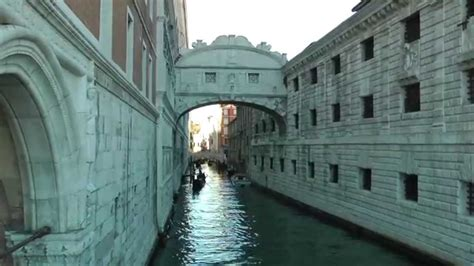 Doges Palace And Bridge Of Sighs Venice Italy Youtube