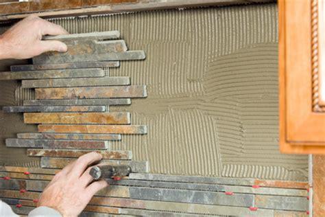 installing tile backsplash in kitchen how to create a tile backsplash diy true value projects