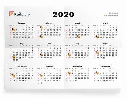 Calendar Rail Network Weeks Holidays Pdf Track