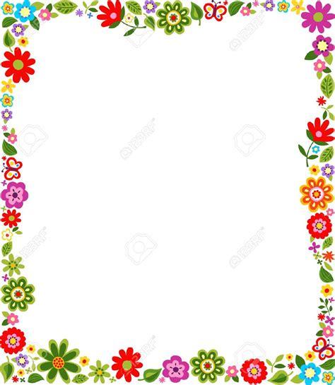 plant border designs patr 243 n lindo frontera floral ilustraciones vectoriales clip art vectorizado libre de derechos