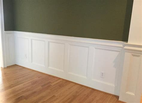 Wainscoting Cap Rail by Wainscoting Trim South Raleigh Nc