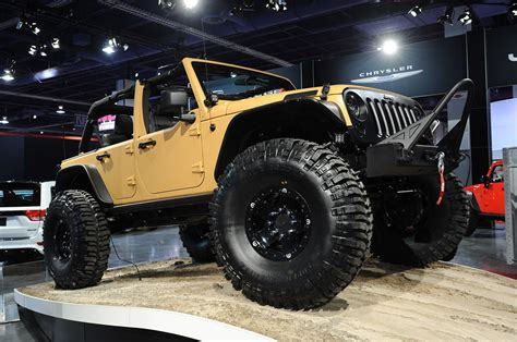 Mopar Launches Jeep Performance Parts With Wrangler Sand