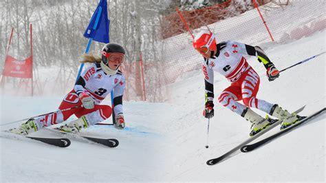 Skiing Ski Winter Snow Sports Mountain Wallpaper