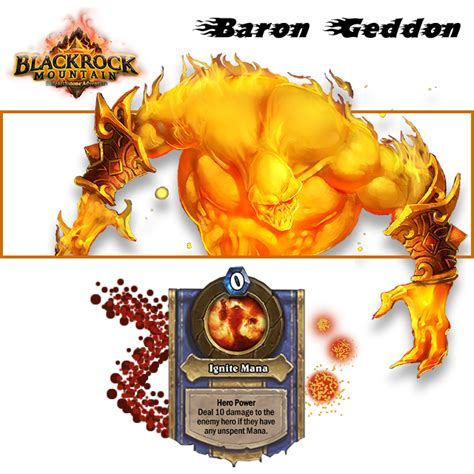 baron geddon heroic video hearthstone decks