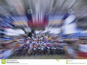 Zoom Effect Of Bicyclists Royalty Free Stock Photos ...