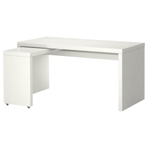 l desk ikea malm desk with pull out panel white 151x65 cm ikea