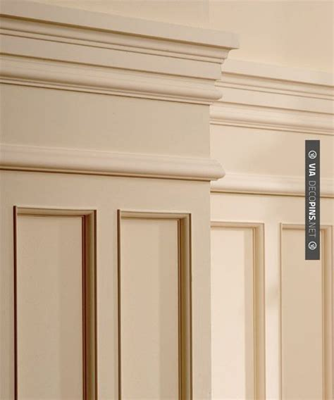 Awesome  Wainscot  Check Out More Crown Molding And Diy