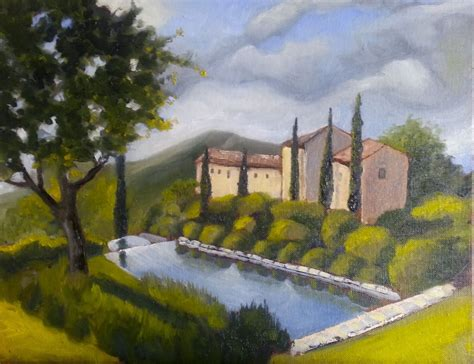 Col Delle Noci Italian Villa by A With Brushes Umbria Italy Villa Col Delle Noci