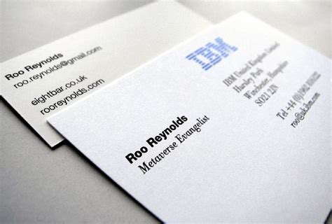 ibm business card | Flickr - Photo Sharing!