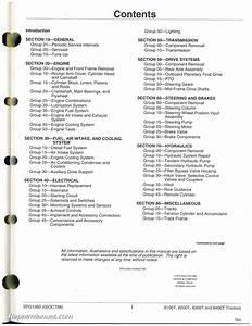 John Deere 8100t  8200t  8300t And 8400t Tractors Service