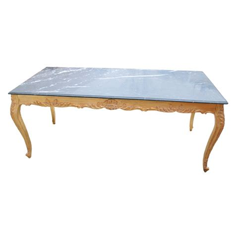 marble and wood dining table large dining table baroque wood gold leaf structure and