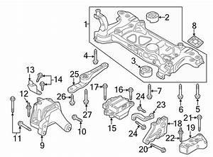 Volkswagen Passat Automatic Transmission Mount  Liter  Left  Engine