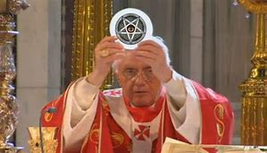 Image result for evil pope