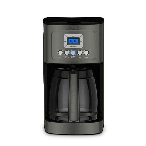 Shop our range of coffee makers at cuisinart, with free uk delivery & 3 year warranty. NEW! Cuisinart DCC-3200BKS Perfectemp Coffee Maker, Black Stainless