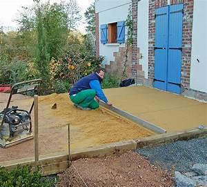Terrasse Sur Sable : terrasse jardin sur sable nos conseils ~ Melissatoandfro.com Idées de Décoration