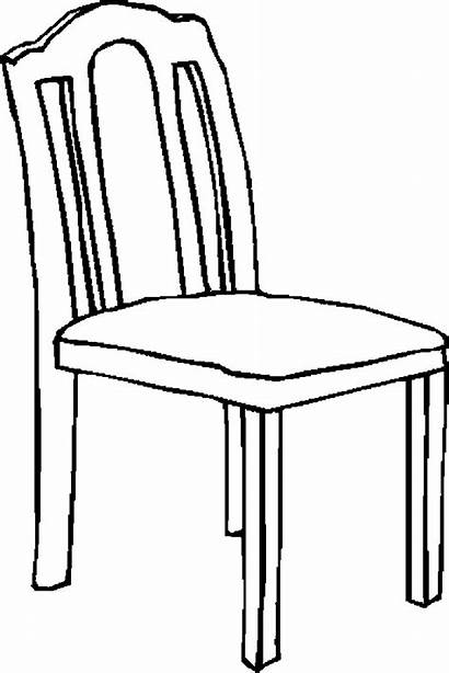 Chair Furniture Coloring Pages