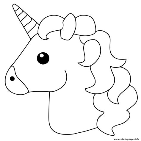 unicorn emoji coloring pages tea time unicorn coloring