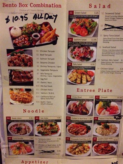 bento box menu yelp